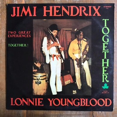 DISCO DE VINIL USADO - JIMI HENDRIX - TWO GREAT EXPERIENCES TOGETHER! LP