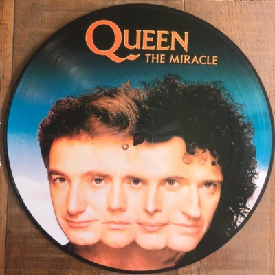 DISCO DE VINIL NOVO - QUEEN - THE MIRACLE LP PICTURE DISC
