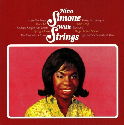 DISCO DE VINIL NOVO - NINA SIMONE - WITH STRINGS LP 180 G