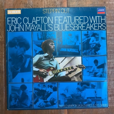 DISCO DE VINIL USADO - ERIC CLAPTON FEATURED WITH JOHN MAYALL´S BLUESBREAKERS - STEPPIN´ OUT LP