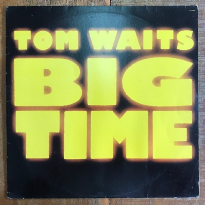 DISCO DE VINIL USADO - TOM WAITS - BIG TIME LP