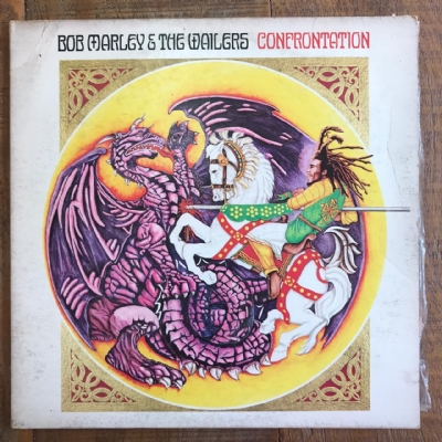 DISCO DE VINIL USADO - BOB MARLEY & THE WAILERS - CONFRONTATION LP