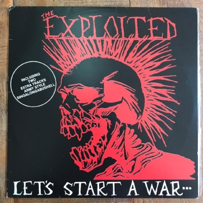 DISCO DE VINIL USADO - EXPLOITED - LET´S START A WAR... LP