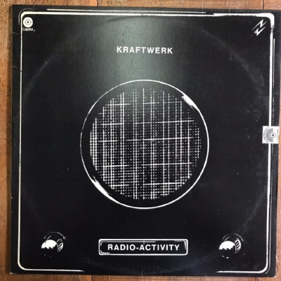 Disco de vinil usado - Kraftwerk - Radio Activity LP