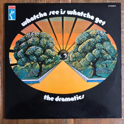 Disco de vinil usado - The Dramatics - Whatcha See Is Whatcha Get LP