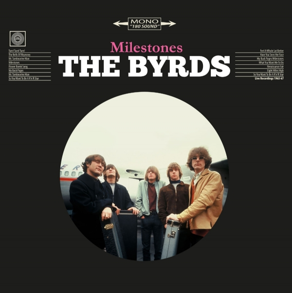 Disco de vinil novo - The Byrds - Milestones LP 180 g