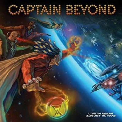 Disco de vinil novo - Captain Beyond - Live In Miami  LP 180 g colorido