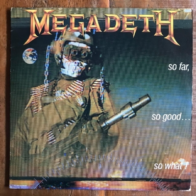 Disco de vinil usado - Megadeth - So Far, So Good...So What! LP