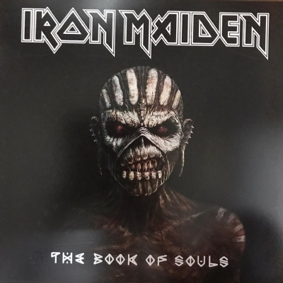 Quadro decorativo em MDF - Iron Maiden - The Book Of Souls