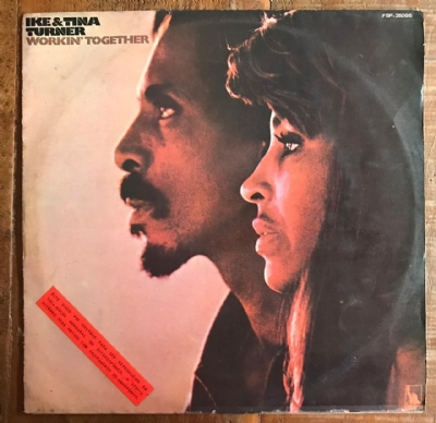 Disco de vinil usado - Ike & Tina turner - Workin´ Together LP