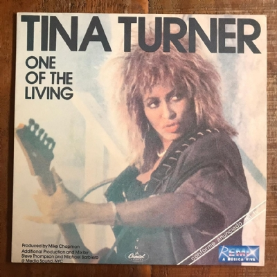 Disco de vinil usado - Tina turner - One Of The Living LP
