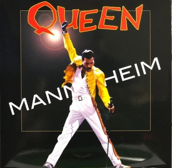 Disco de vinil novo - Queen - Mannhein Mainmarktmagic 1986  LP Duplo 180 g colorido