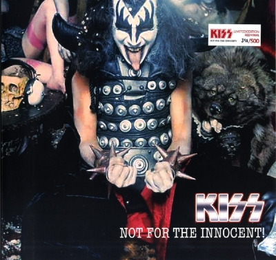 Disco de vinil novo - Kiss - Not For The Innocent! LP 180 g colorido