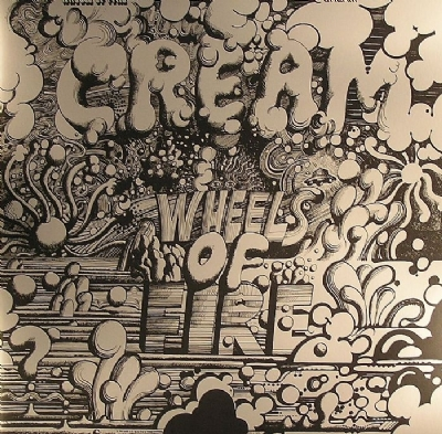 Disco De Vinil Novo - Cream - Wheels Of Fire Golden Cover Lp Duplo 180 G
