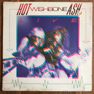 Disco de vinil usado - Wishbone Ash - Hot Ash LP