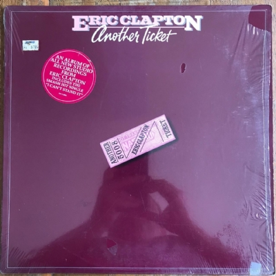 Disco de vinil usado - Eric Clapton - Another Ticket LP