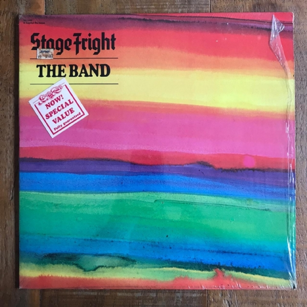 Disco de vinil usado - The Band - Stage Fright LP