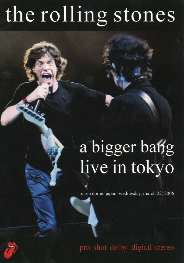 DVD - The Rolling Stones - A Bigger Bang Live In Tokyo