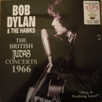 Disco De Vinil Novo - Bob Dylan & The Hawks - The British Judas Concerts 1966 05 LP 03 CD 01 DVD Box Set