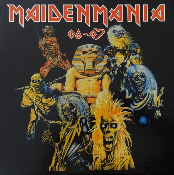Disco De Vinil Novo - Iron Maiden - Maiden Mania 80-87 05 LP Box Set