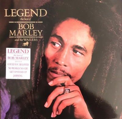 Disco De Vinil Novo - Bob Marley & The Wailers - Legend The Best Of Lp