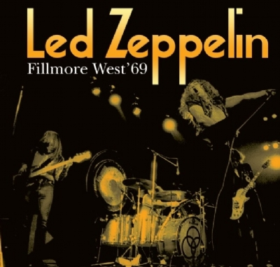 Disco De Vinil Novo - Led Zeppelin - Fillmore West ´69 lp