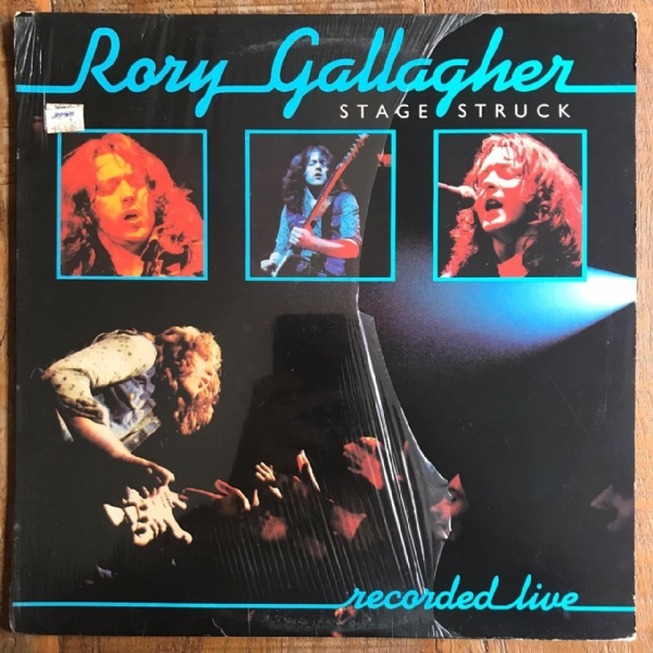 Disco de vinil usado - Rory Gallagher - Stage Struck Lp