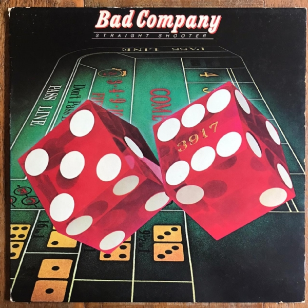 Disco de vinil usado - Bad Company - Straight Shooter Lp