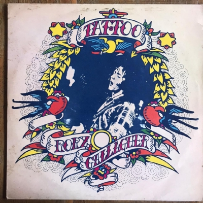 Disco de vinil usado - Rory Gallagher - Tattoo Lp