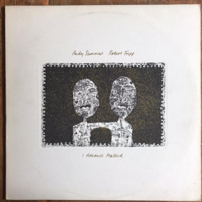 Disco de vinil usado - Andy Summers & Robert Fripp - I Advance Masked Lp