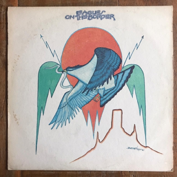 Disco de vinil usado - Eagles - On The Border Lp