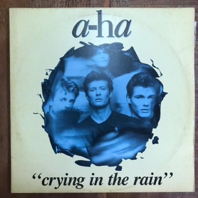 Single de vinil usado - A-Ha - Crying In The Rain Lp 12