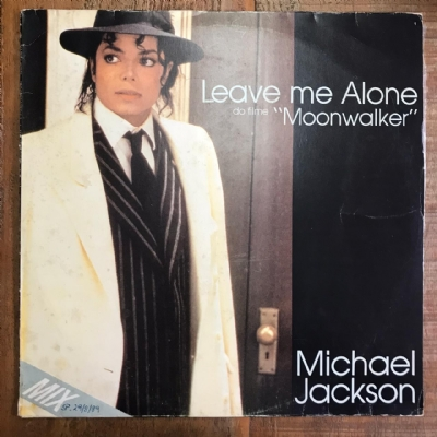 Single de vinil usado - Michael Jackson - Leave Me Alone Lp 12