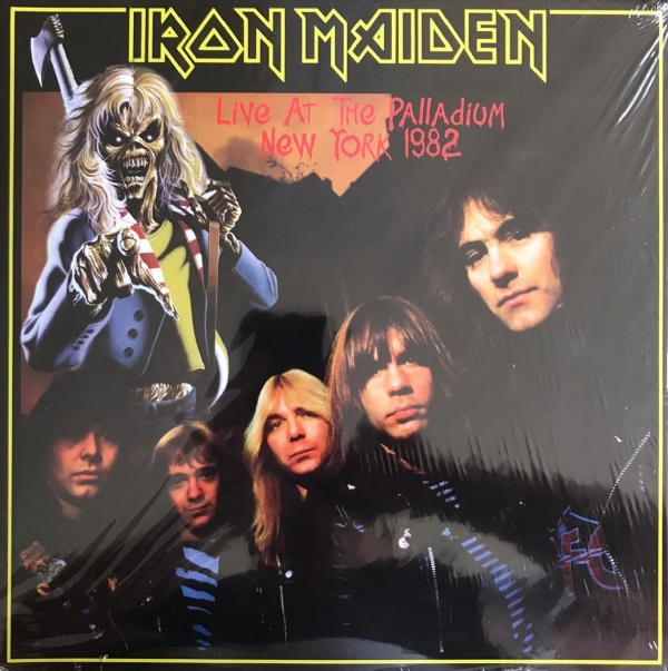 Disco De Vinil Novo - Iron Maiden - Live at the Palladium New York 1982 lp 180 g