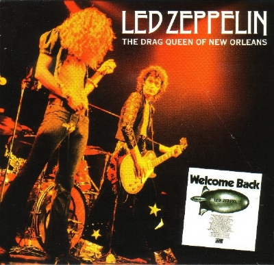 CD usado - Led Zeppelin - The Drag Queen Of New Orleans CD triplo