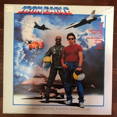 Disco de vinil usado - Iron Eagle lp