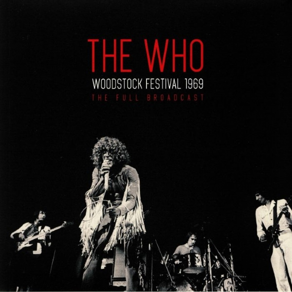 Disco De Vinil Novo - The Who - Woodstock Festival 1969 Lp Duplo 180g Transparente IMG-1669739