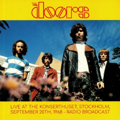 Disco De Vinil Novo - The Doors - Live At The Konserthuset 1968 Lp Duplo 180g