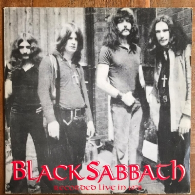 Disco De Vinil Usado - Black Sabbath - Recorded Live In 1978 Lp