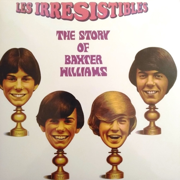 Disco De Vinil Novo - Les Irresistibles - The Story Of Baxter Williams Lp 180g