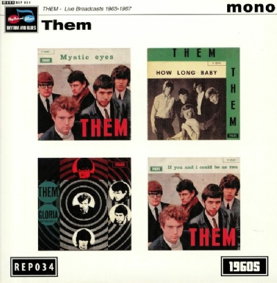 Disco de vinil novo - Them - Live Broadcasts 1965-1967 EP