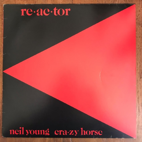 Disco De Vinil Usado - Neil Young & Crazy Horse - Reactor Lp