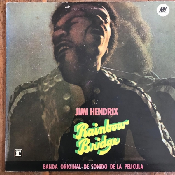 Disco De Vinil Usado - Jimi Hendrix - Rainbow Bridge Lp
