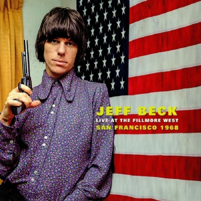 Disco De Vinil Novo - Jeff Beck - Live At The Fillmore West Lp 180g Colorido