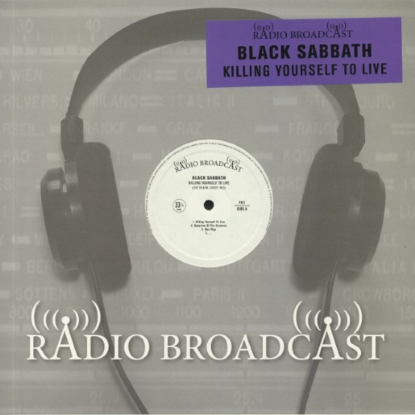 Disco De Vinil Novo - Black Sabbath - Killing Yourself To Live Lp