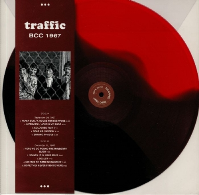 Disco De Vinil Novo - Traffic - BBC 1967 Lp 180 G Multicolorido