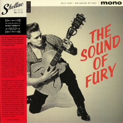 Disco De Vinil Novo - Billy Fury - The Sound Of Fury Lp 180 g