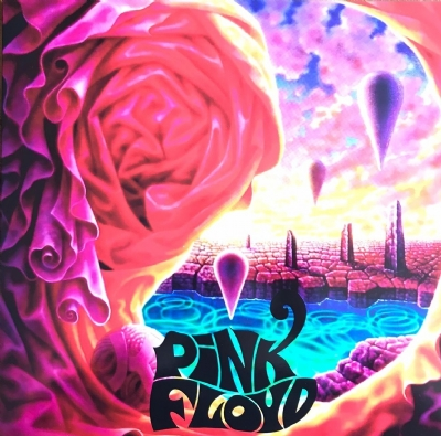 Disco De Vinil Novo - Pink Floyd - Live At Osaka Festival Hall 1972 Lp Colorido