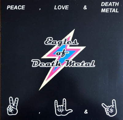 Disco De Vinil Novo - Eagles Of Death Metal - Peace, Love & Death Metal Lp Colorido