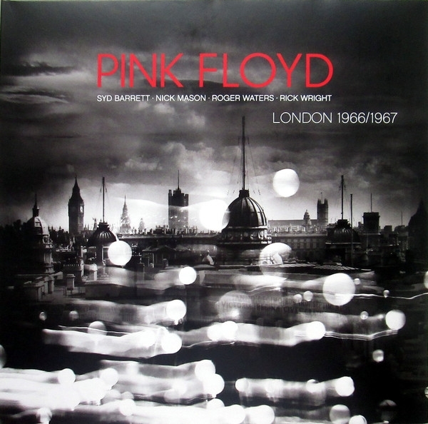 Disco De Vinil Novo - Pink Floyd - London 1966/1977 Lp 180g Colorido